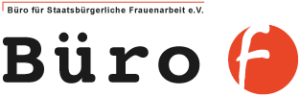 Büro F Logo, Jennifer Tomandl Social Media ReferentinBüro F Logo